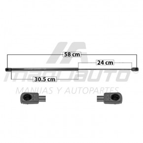 Amortiguador Vidrio Trasero WRANGLER JEEP 50901